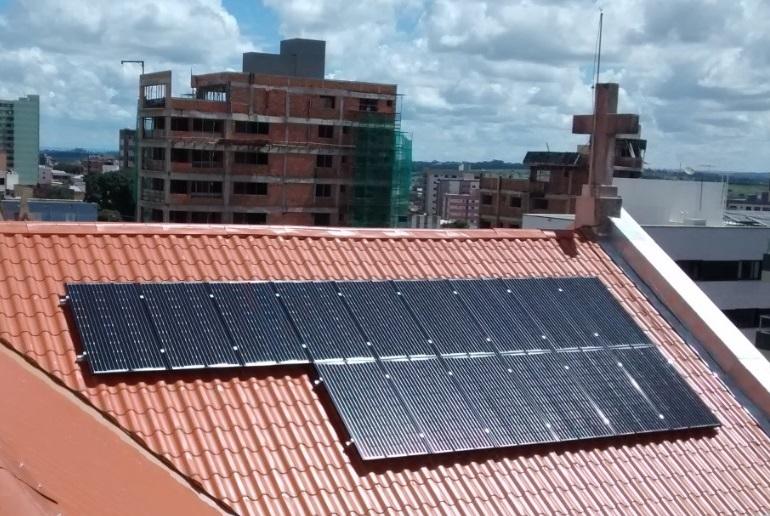 Resultado de imagem para igreja energia fotovoltaica